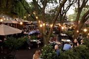 The patio at W.A. Frost & Co. in St. Paul is a local favorite. Rick Nelson