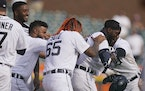 The Tigers walked-off the Twins, with help from MLB's extra innings rule.