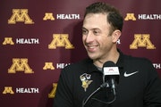 Richard Pitino coached the Gophers for eight seasons.