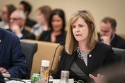 Rep. Kelly Moller, DFL-Shoreview, is sponsoring a bill to address gaps in the state's criminal sexual conduct laws. LEILA NAVIDI • STAR TRIBUNE