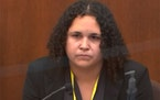 BCA forensic scientist Breahna Giles testified Wednesday, April 7, 2021, in the trial of former Minneapolis police officer Derek Chauvin in Minneapoli