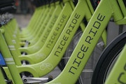 This week workers began deploying nearly 1,000 Nice Ride bikes across Minneapolis, and a fleet of 1,000 pedal-assisted e-bikes and scooters will be ou