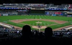 Twins pitcher Jose Berrios delivered a pitch in the third inning during the Twins home opener against the Seattle Mariners