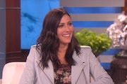"Newly crowned ""The Bachelorette"" Becca Kufrin appeared on ""Ellen."""