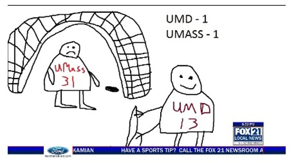 Without video, Duluth broadcaster still brought the UMD highlights