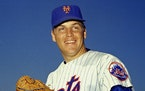 This March 1968 file photo shows New York Mets pitcher Tom Seaver.