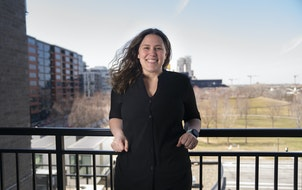 Heidi Sundquist is part of the annual Step Up program that guides young people into the workforce.