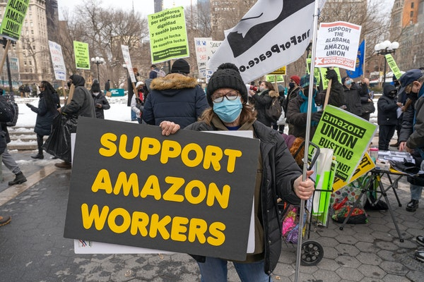 Amazon appears to have votes to block union effort