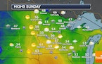 Clouds Stick Around Sunday, With Rain Chances Returning Sunday Night Into Monday