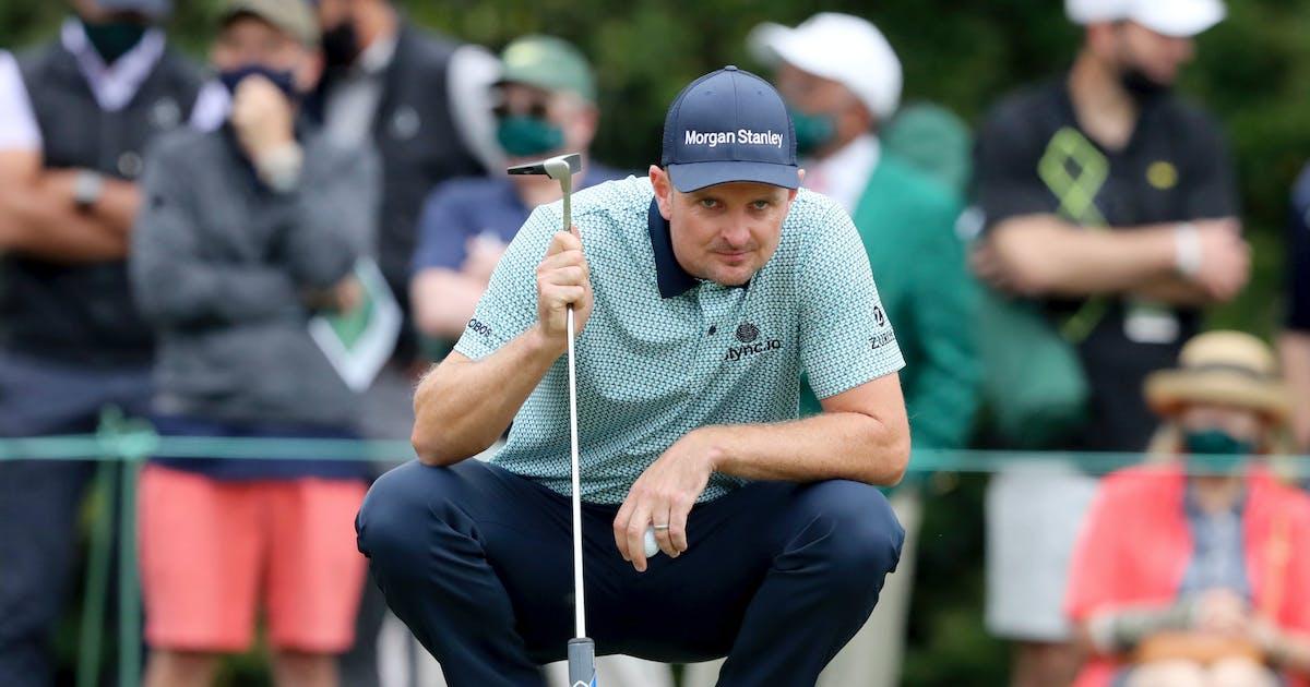 Promising golfers lurk below top 10 at Masters as rain threatens third round