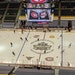 St. Cloud State and Massachusetts during pregame warmups Saturday.