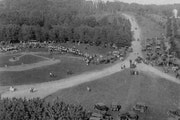 The St. John's baseball field in 1923. By then, the Johnnies and Tommies baseball teams had been playing each other for more than a decade.