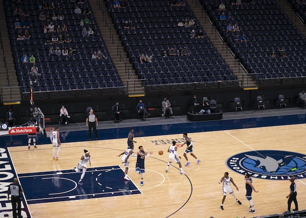 The Wolves and Kings played on April 5 at Target Center.