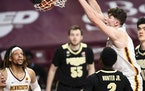Center Liam Robbins is on the move again, headed to Vanderbilt after one season with the Gophers. He arrived in Minnesota after transferring from Drak