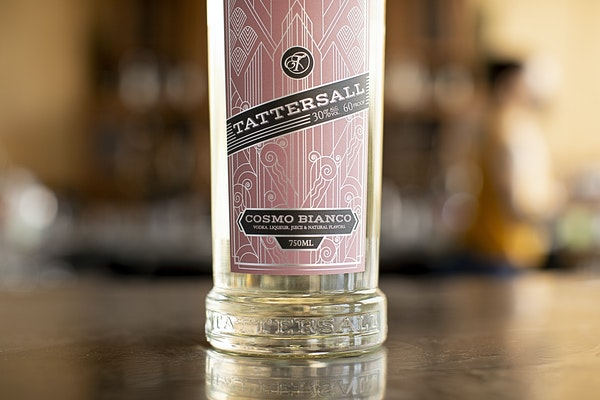 Tattersall's new ready-to-drink cocktail, Cosmo Bianco.