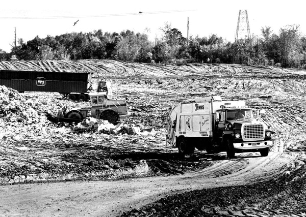The Pine Bend landfill.