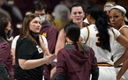 Gophers coach Lindsay Whalen has a new option at center for next season.
