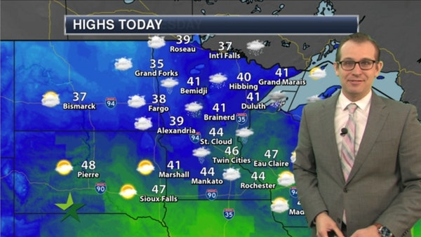Morning forecast: Icy start, then melting; high 46