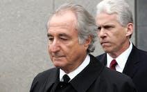 Former financier Bernie Madoff left federal court in Manhattan, in March 2009.