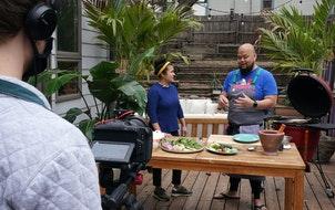 Chefs Christina Nguyen and Yia Vang recently filmed a segment for Minnesota Rice.