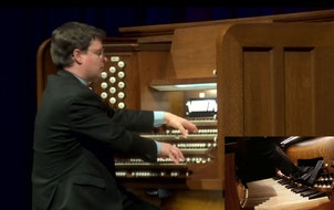 The livestream of Tuesday's concert at Northrop included a picture-in-picture so viewers could watch organist Paul Jacobs' nimble footwork.