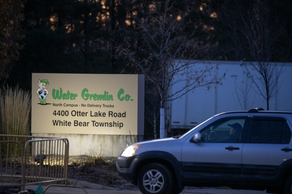 In this file photo from Nov. 2019, Water Gremlin employees returned after the facility was shut down for more than a week.
