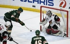 Wild center Nick Bonino scored one of Minnesota's three power-play goals on Wednesday afternoon.