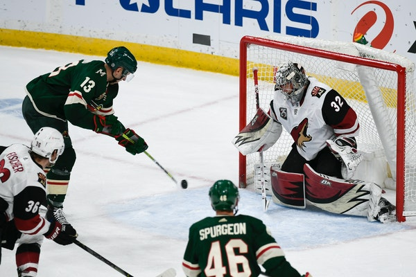 Red-hot Wild power play is at NHL-best 50% this month
