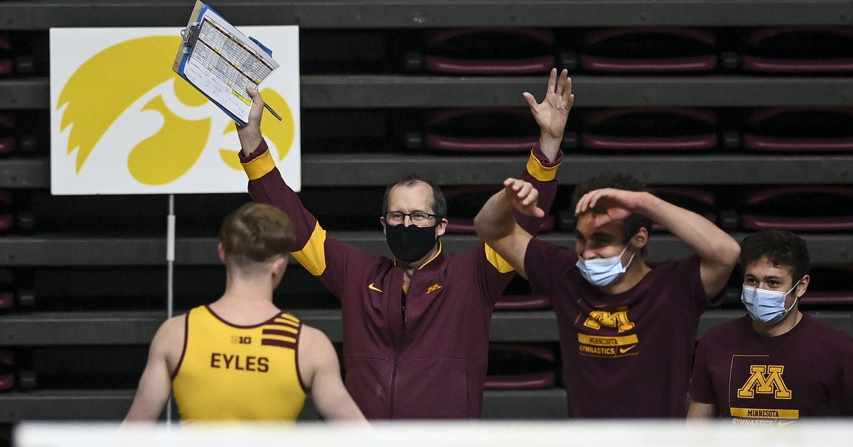 Coach sees opportunity as an era ends in Gophers men's gymnastics