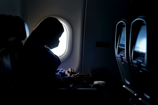 A new study says leaving middle seats open could reduce the risk of airline passengers contracting the virus that causes COVID-19.