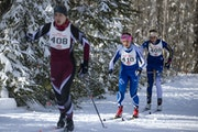 Nordic skiers competing at the high school state meet were allowed to compete without wearing masks. The Minnesota State High School League is seeking