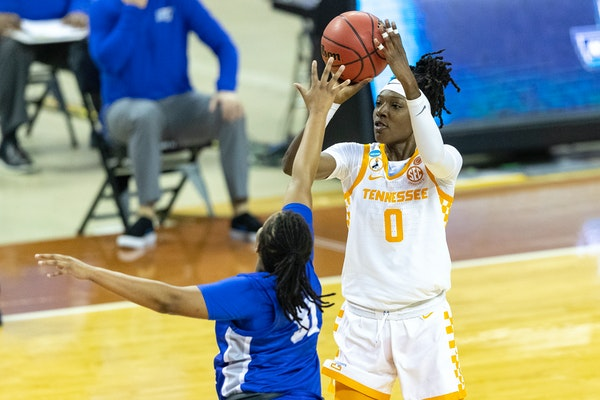 Lynx take Tennessee forward Davis with only pick in WNBA draft