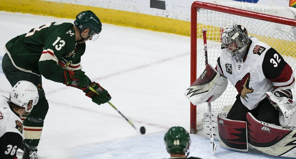 Sparked by Bonino, Wild's fourth line doing a first-rate job