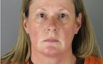 Kim Potter This booking photo released by the Hennepin County, Minn., Sheriff shows Kim Potter, a former Brooklyn Center, Minn., police officer who is