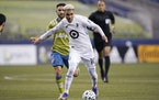 """Emanuel Reynoso last season became the first player in MLS history with multiple three-assist playoff games. """"He was so good for us,"""" coach Adrian"""