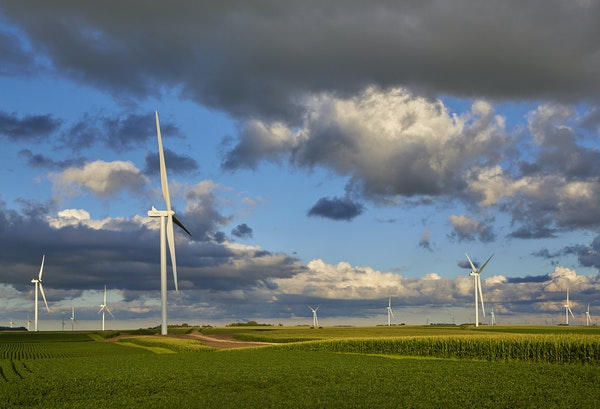 Activation of the Nobles 2 wind farm in 2020 in southwestern Minnesota pushed Minnesota Power to 50% renewable energy in December.