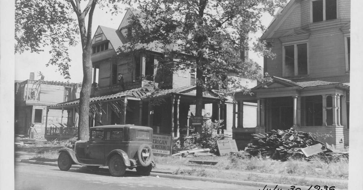 Near North neighborhood in Minneapolis was once home to a showcase of Victorian homes