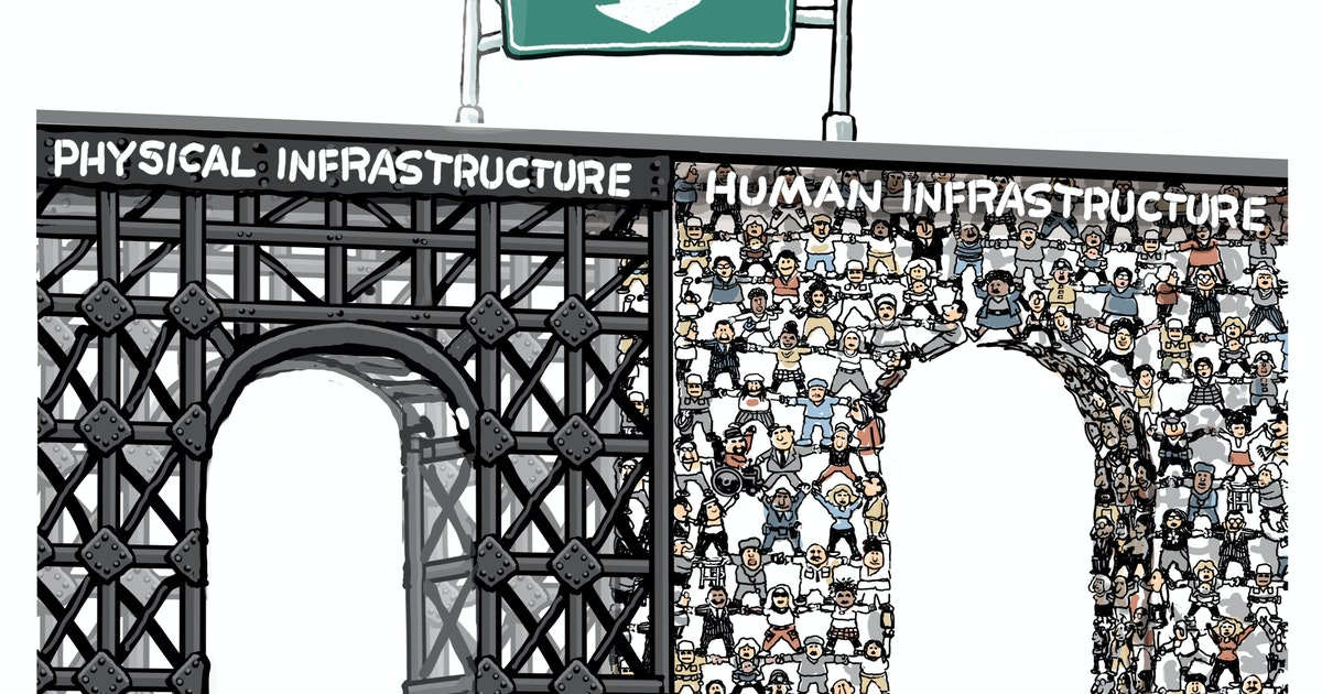Sack cartoon: America's infrastructure