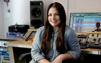Gena Johnson, shown in her home studio in Nashville, has worked with the likes of Kacey Musgraves and John Prine.