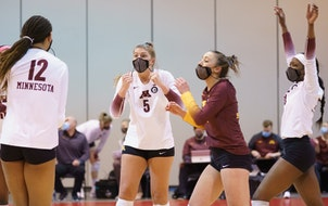 The Gophers on Sunday will appear in their 18th NCAA Sweet 16 match.