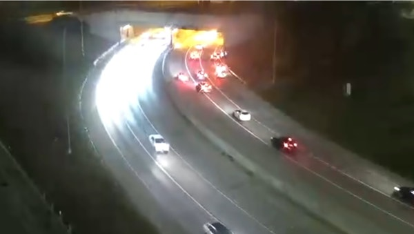 Two dead, one injured in fiery crash in Lowry Hill Tunnel