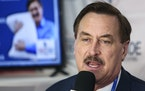 MyPillow CEO Mike Lindell is responding to a Dominion lawsuit filed against him and his company with a lawsuit of his own. (Sam Thomas/Orlando Sentine