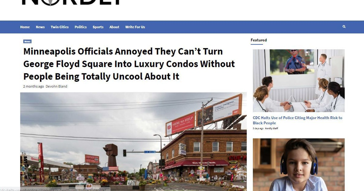 Online publication the Nordly makes fun of Minnesota because, well, someone has to