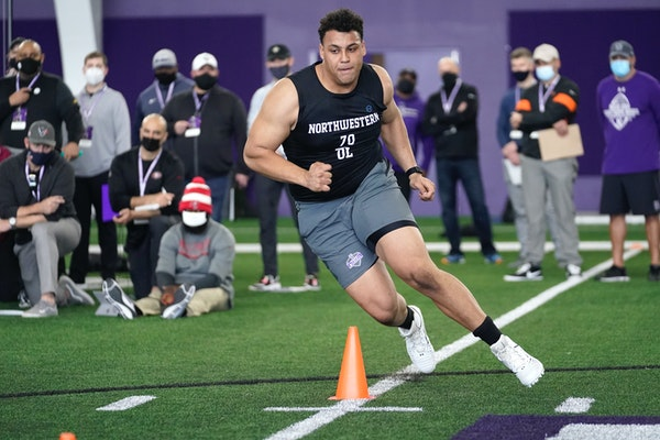 Draft preview: Offensive line may be the Vikings' biggest need yet again