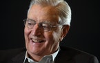 Walter Mondale in 2014. The former vice president died Monday.