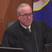 Hennepin County Judge Peter Cahill showed verdict sheets to the jury on Monday, April 19, 2021, in the trial of former Minneapolis police officer Dere