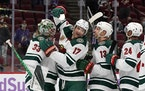 The Wild stretched its win streak to four after outlasting the Coyotes 5-2 on Monday.