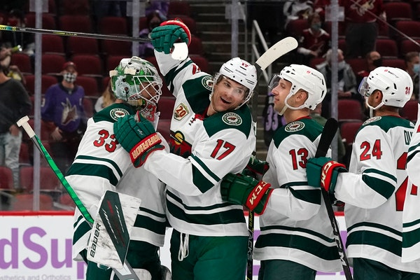 Wild running away from competition in playoff race
