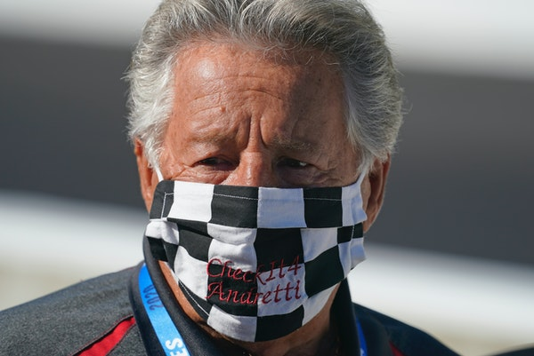 Mario Andretti feels the same pain as so many others these days. One of the greatest racers of all time is not immune from the loneliness and depressi