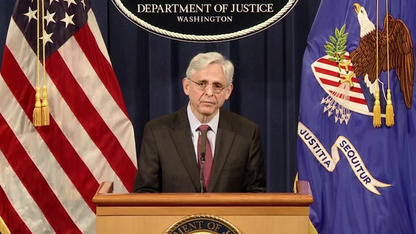 Attorney General Merrick Garland announces probe of MPD